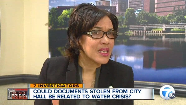 Flint police probing if water documents stolen in City Hall break-in