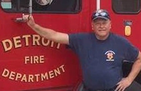 Person of interest arrested in Detroit firefighter's murder