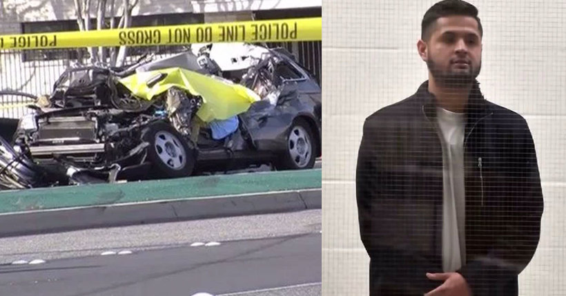 Man charged with murder in street-racing crash that killed musician