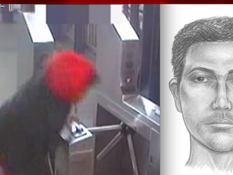 Video, sketch released of new NYC subway slasher