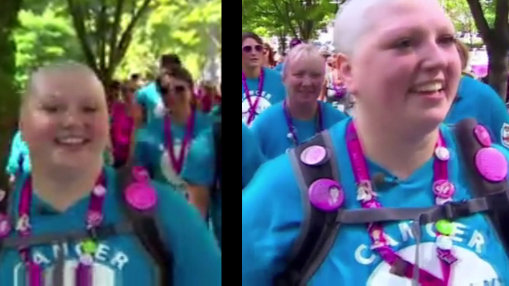 Cancer activist accused of faking her cancer