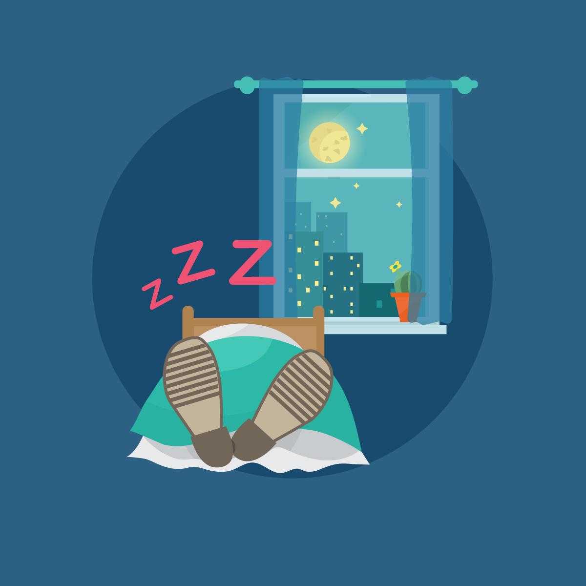 sleepingShoes
