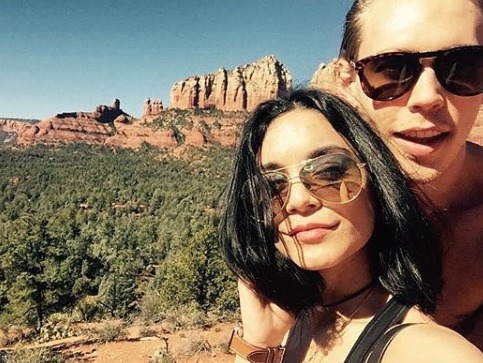 Coconino National Forest investigating Vanessa Hudgens, Austin Butler for Sedona rock etching