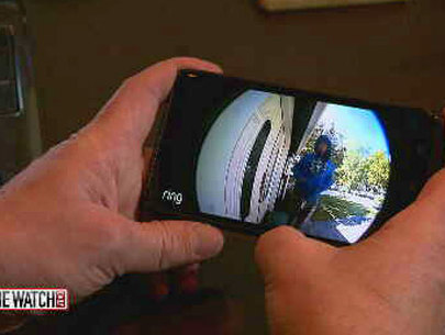 Doorbell security cameras help homeowners while they're away