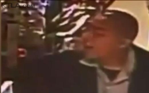 Robber sought in violent spree