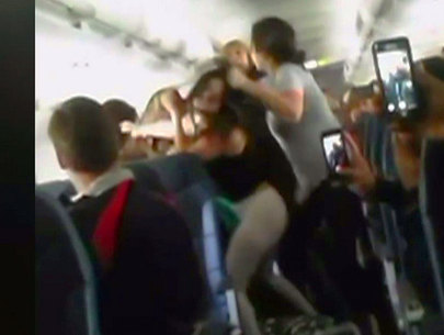 Passengers brawl mid-air aboard Spirit Airlines flight