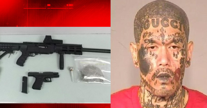 Guns, drugs found after police pull over Fresno gang member