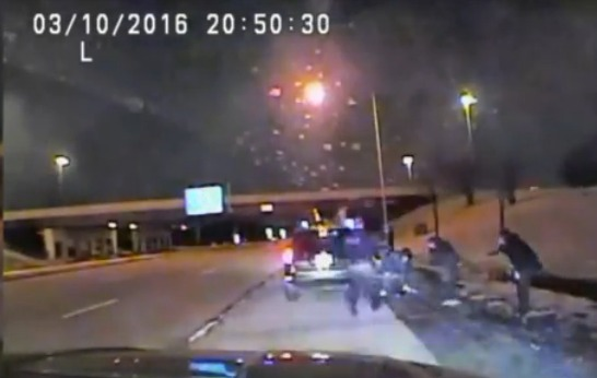 Dash cam: Officers save baby's life