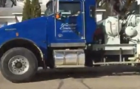 Kid steals cement truck, leads cops on wild chase