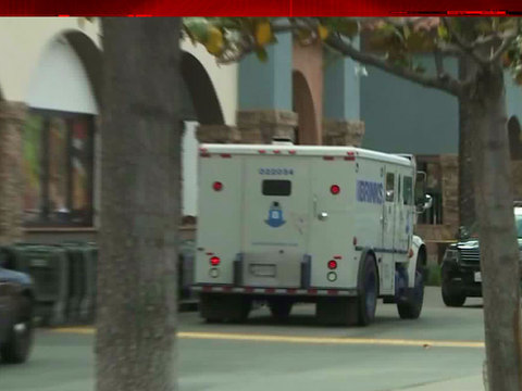 Armed man robs Brink's armored truck in Granada Hills