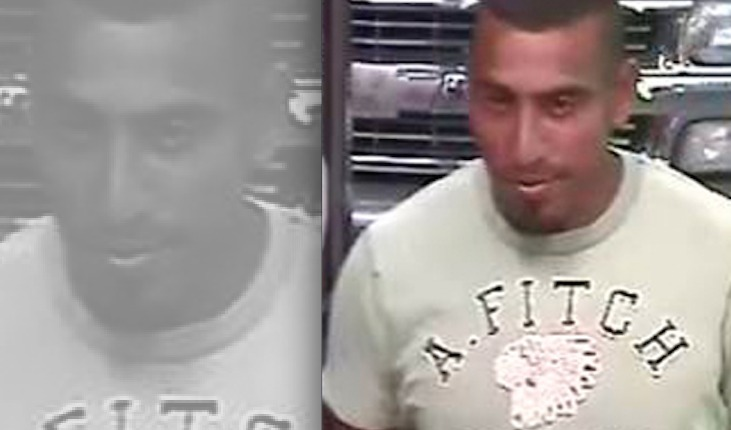 New photo released of man sought in sex assault on woman at store