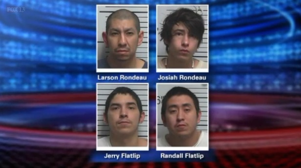 4 arrested for allegedly raping 9-year-old while mom got high