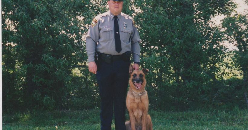 Officer Hickey's fight to keep his K-9 officer 'Ajax'