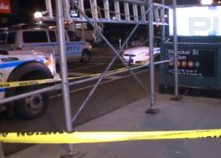 Second victim this year slashed at same NYC subway station