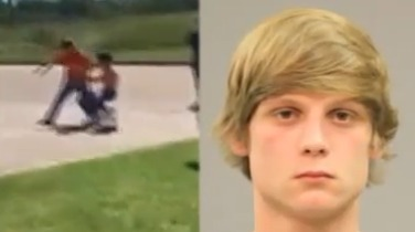 Texas teen charged in viral video fight