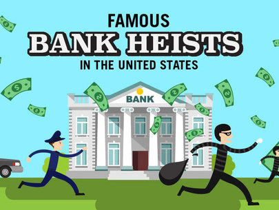 7 famous bank heists in the United States