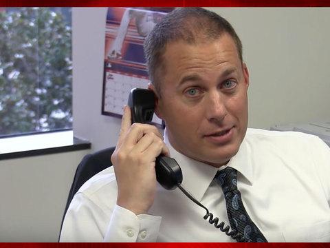 OCDA investigator records call with IRS scam suspect
