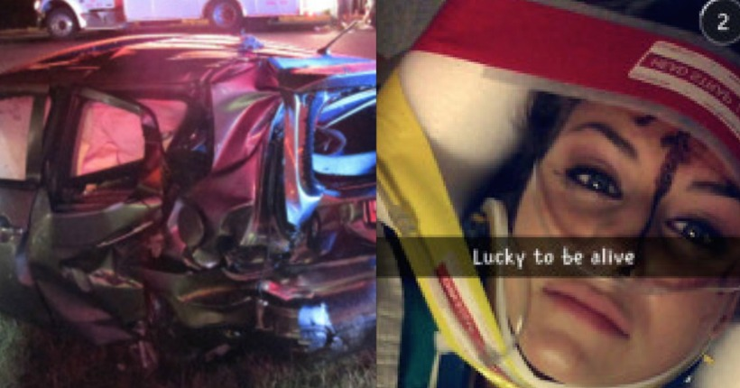 Snapchat speed filter blamed for 107-MPH crash