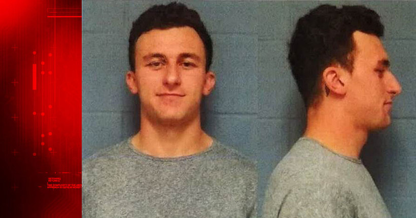 MUGSHOT: Johnny Manziel turns himself in, out on bail