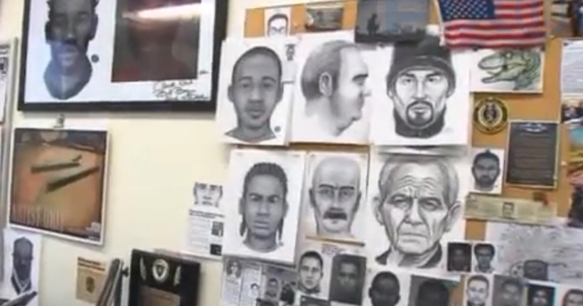 Inside the NYPD sketch artist unit