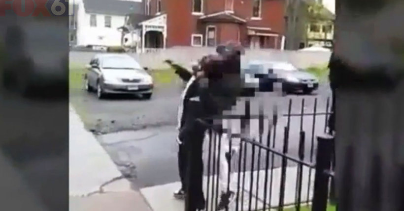 Hartford 'knockout game' attack caught on camera; one teen arrested