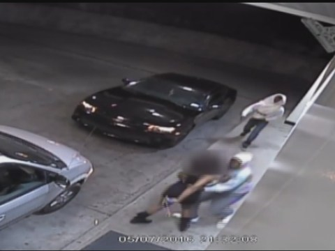 Caught on video: Woman fights off carjacking attempt