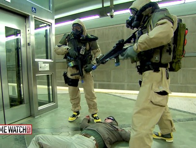 Intense counterterrorism training with the L.A. County Sheriff's Dept.