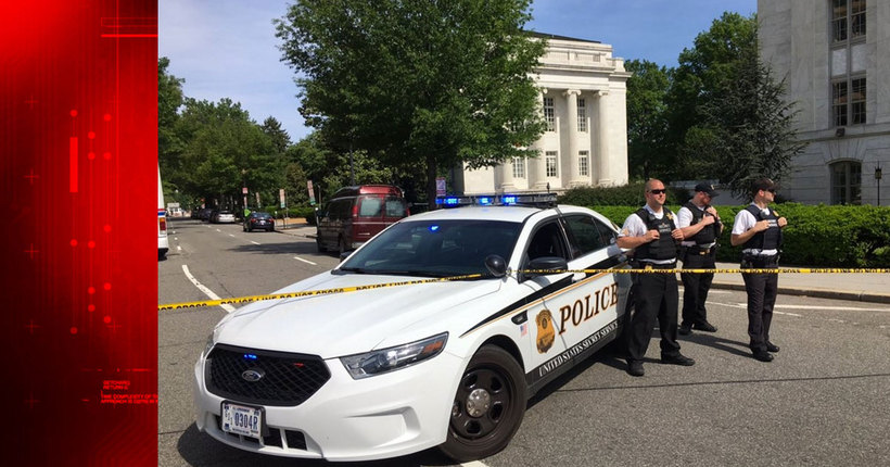 White House lockdown lifted; 1 person shot by law enforcement, taken to hospital