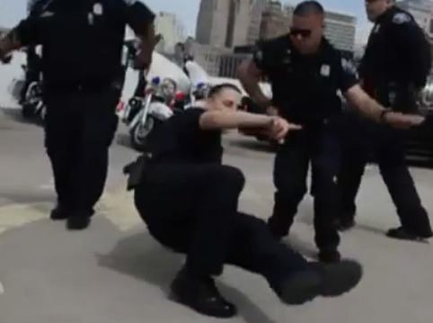 Detroit police's 'running man' recruitment video goes viral