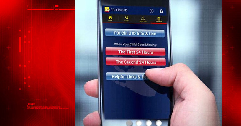FBI app prepares parents for worst case scenario, app helps when kids go missing
