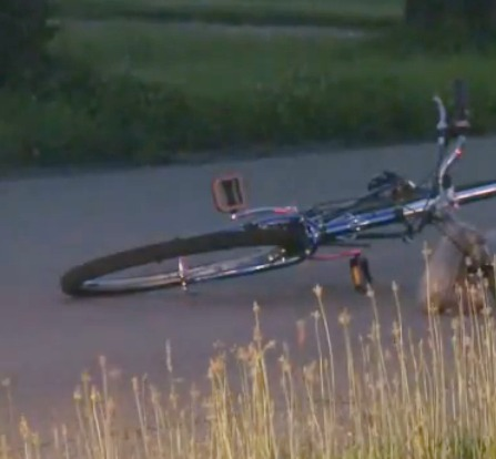 Police investigate two men shot while riding bikes