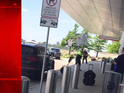 Video shows officer shoot man at Dallas Love Field