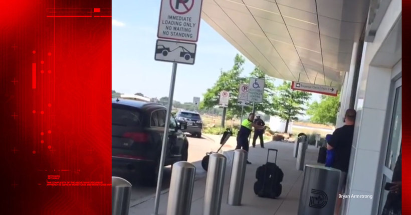 Video shows officer shoot man at Dallas Love Field