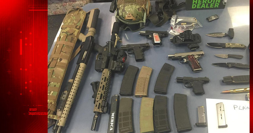 Multiple loaded weapons found in vehicle near Holland Tunnel; 3 arrested: Port Authority