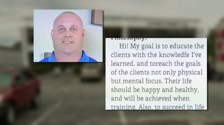 Hours after release, trainer accused of sexual assault back at gym