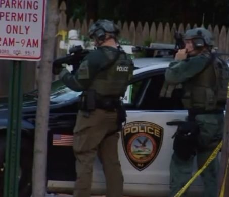 Man shoots wife, kills self after standoff with police