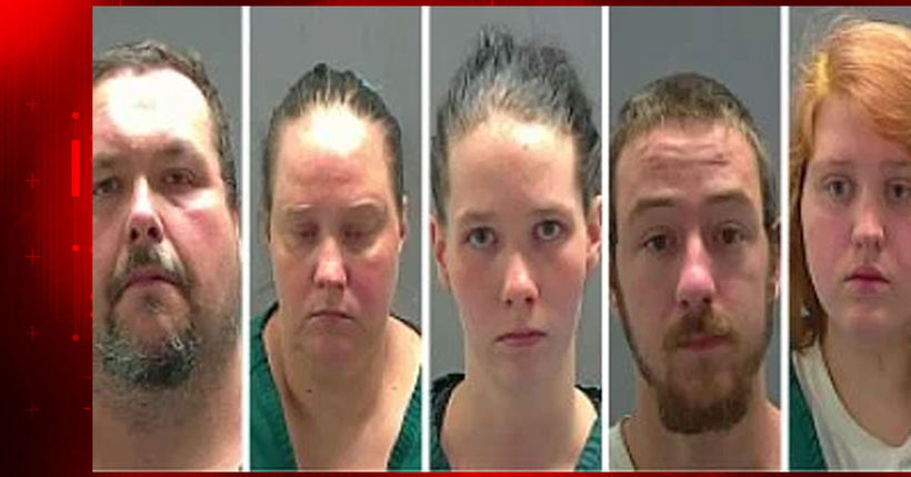 5 arrested in Amite after autistic woman found living in cage in backyard