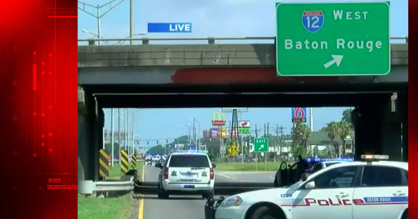 Six police officers shot, three officers dead in Baton Rouge