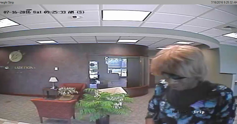 Man dressed in women's clothing accused of robbing York Twp. bank