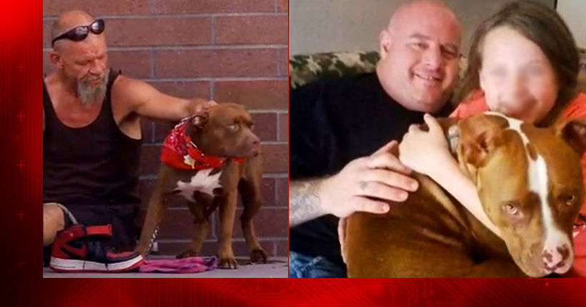 Fallen officer Ahrens, homeless man form unlikely bond over love of dogs