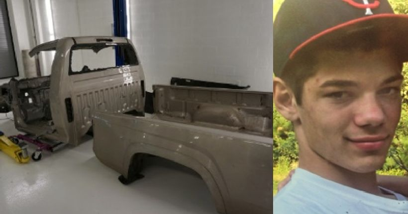 Dismantled truck of NY missing teen found in middle Tennessee