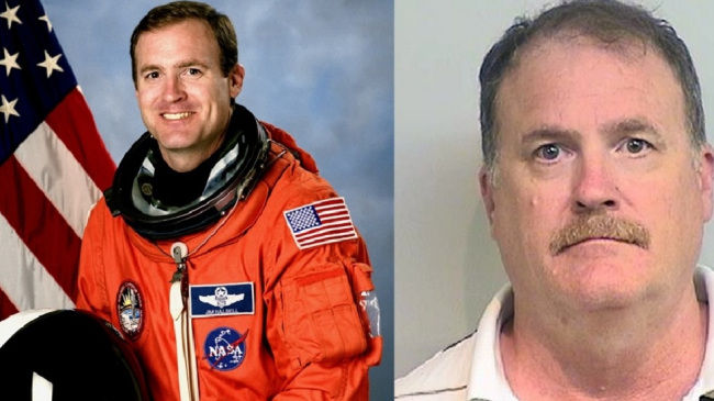Retired astronaut charged with murder in crash that killed 2 girls
