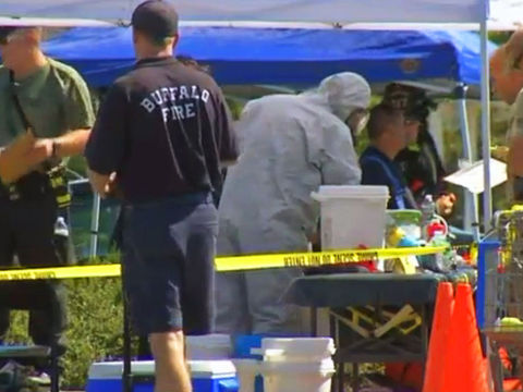 Suspected meth lab discovered under Walmart parking lot
