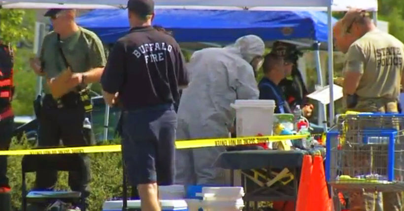Suspected meth lab discovered under Walmart parking lot