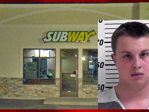 Subway employee arrested for slipping meth into cop's drink