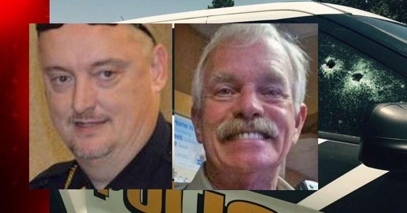 Two Sebastian County officers shot, suspect in custody