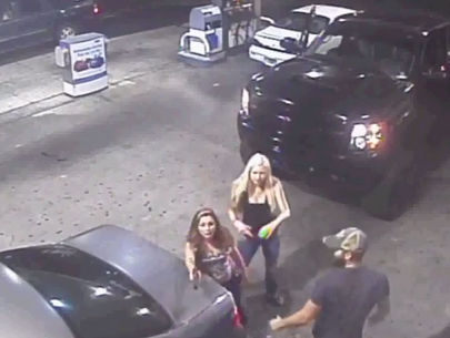 WATCH: Road rage incident caught on surveillance video