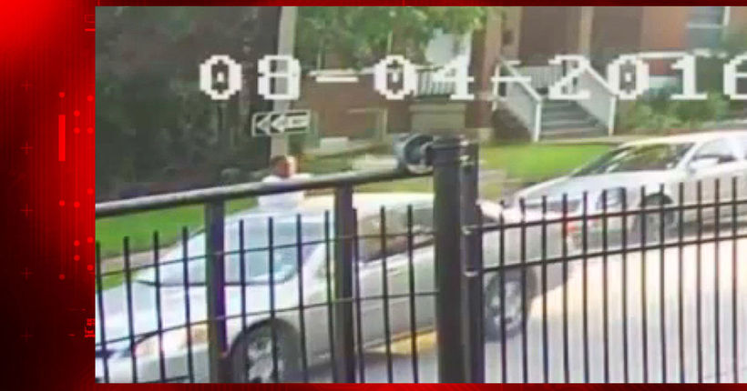 Surveillance video captures fatal drive-by shooting; suspects sought