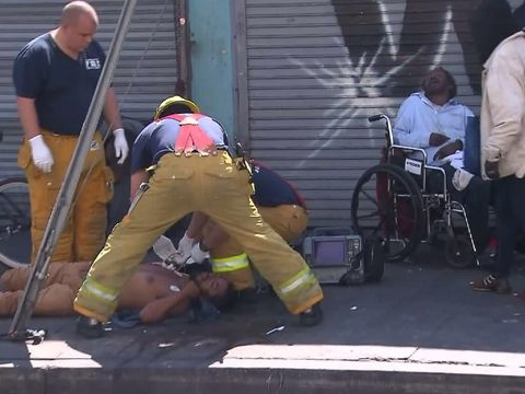 Synthetic pot creating 'public health crisis' in Skid Row: LAFD