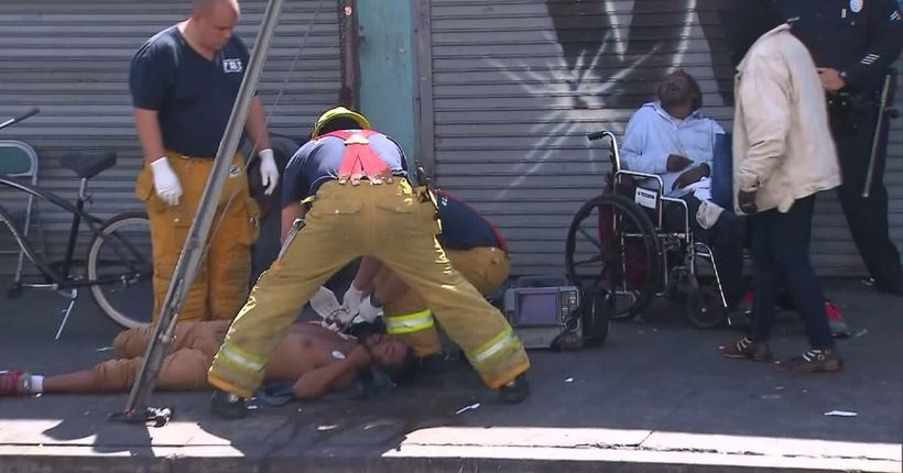 Synthetic marijuana creating 'public health crisis' in Skid Row: LAFD medical director